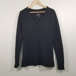 7 For All Mankind V-Neck Sweater Size S